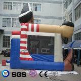 Bouncer di salto dell'acqua personalizzato disegno dell'acqua dei Cochi della sosta del pirata gonfiabile del giocattolo per il gioco del capretto