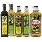 Olivenöl-Flasche, olivgrüne Flasche, olivgrüne Glasflasche