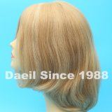 Alta parrucca illuminata dei capelli umani dell'onda del corpo