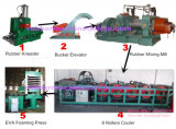エヴァSheet Foaming Vulcanizing Press (エヴァSheetの生産Line)