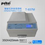 Печь Reflow горячего воздуха, печь Reflow Puhui T-937m, Desktop печь T-937m Reflow