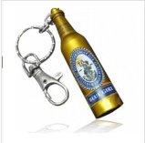 Azionamento dell'istantaneo del USB di figura della bottiglia di vino con il marchio su ordinazione nel corpo