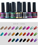 Color metallico Nail Gel UV Polish Soak fuori da 8ml 24 Kinds New 2016 Hot Professional