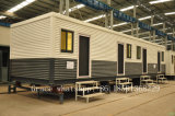 Camera prefabbricata mobile del contenitore con le attrezzature della toletta (baracca del contenitore)
