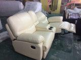 عالية الجودة لينة شعور جلد كرسي أريكة، أريكة روكي (Y988)
