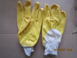 Nitrile Coated Safety Gloves con CE (DCN303)