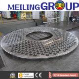 Dn1500 1.4404 Gesmede Bladen van de Buis van het Roestvrij staal F316L voor Boiler
