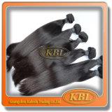 Выдвижения волос естественной черной прямой волны малайзийские