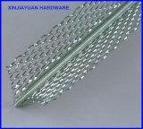 Perle d'angle en métal expansé galvanisé avec deux ailes Trou diamant