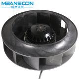 Ventilador radial para trás curvado do ventilador 225 centrífugo com o motor externo do rotor sem carcaça