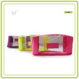 Vario bolso del cosmético del PVC de los colores de la nueva manera promocional