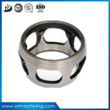 Soem-Metall geworfenes formenharz-werfendes weißes Metallgußteil vom Gussteil-Lieferanten