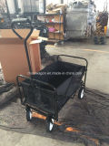 Schwarzes Color 600d Gewebe Bucket Folding Wagon