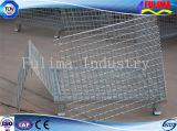 Gabbia accatastabile di memoria della rete metallica per il Workhouse/magazzino (SSW-F-001)