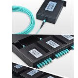 12 memorias/24 cuerdas de corrección ópticas de fibra de las memorias MTP/MPO