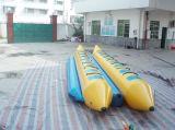 Шлюпка банана воды 12 людей раздувная для шлюпки банана сбывания раздувной Towable