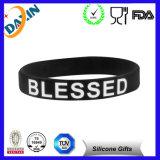 Braccialetto su ordinazione del silicone/Wristband su ordinazione del silicone