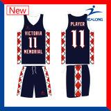 Healong modificó el baloncesto Jersey del camuflaje para requisitos particulares
