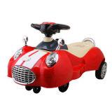 Carro do balanço do bebê da forma do carro com a venda por atacado barata do preço da música