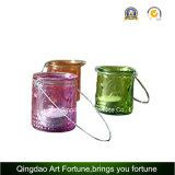 Candela riempita vetro caldo di vendita con fragranza