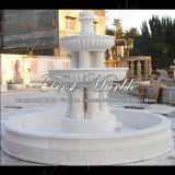 Fontana bianca esterna Mf-764 di Carrara del granito di pietra di marmo