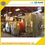 Het roestvrij staal brouwt Ketel, het Systeem van het Bierbrouwen van het Aal