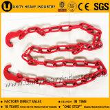 수송 사슬 또는 선창을%s 훅을%s 가진 사슬 의무적인 사슬 채찍질하기
