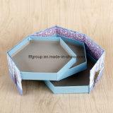 Cadre sensible de fleur de cadre de papier d'emballage de chocolat de carton de vente chaude