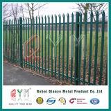 Frontière de sécurité enduite de palissade de PVC euro pour des grilles de jardins