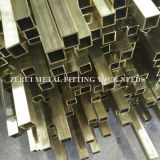 ASTM B135 hartes gezeichnetes Messingstandardgefäß für dekoratives