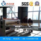 Panneau de marbre artificiel décoratif enduit UV de PVC faisant la machine