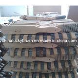 木のハンドルの鋼線の磨くブラシ(YY-130)