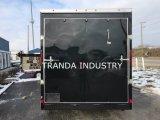 판매를 위해 다이아몬드는 음식 트럭을 도금한다