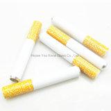 Metaal Één de Knuppel 100PCS/Box 78mm Lengte Één van de Knuppel van de sigaret van de Pijp Hitter van 55m de Pijpen van het Metaal van het Aluminium van de Knuppel van de Sigaret van Pijpen Hitter voor het Roken