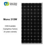 el panel solar fotovoltaico monocristalino flexible de las energías renovables 315W