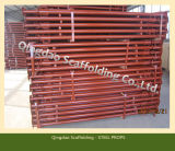 조정가능한 Formwork Construction Scaffolding Support 또는 Shoring Steel Prop