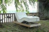 Base ajustable popular del masaje de los muebles del dormitorio de los muebles de la venta casera de la tapa con el microteléfono sin hilos 1/2queen 1/2king