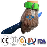 Edelstahl Chain Mail Gloves für Butcher/Butcher Chain Mail Anti Cut Gloves (XXS, XS, S, M, L, XL, XXL)