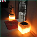 "16"" Cambiar LED recargable cubo W / cubo del color Abrir remoto"