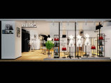 New Arrival Shop Display Fixtures for Luxury Ladies 'Clothes Shop