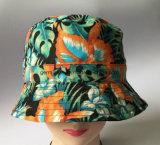 chapéu reversível de 100%Cotton Sun com toda sobre a cópia no escudo (LY061)
