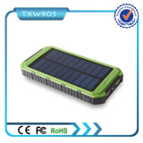 carregador solar do USB de 10000mAh 2-Port