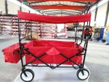 Bunter faltender Lastwagen/Laufkatze für Fischen oder das Einkaufen