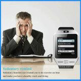 Jv08sのiPhoneのためのスマートな腕時計のBluetoothの腕時計、スポーツの腕時計および人間の特徴をもつ電話