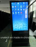 Innen-Flughafen-Messe 42/43/47/49inch LCD-Ad/Ads/Advertizing, die Digitalsignage-Bildschirmanzeige-Video-Player steht