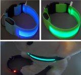 Ligação do animal de estimação/colar do animal de estimação/colar de cão com luzes do diodo emissor de luz