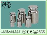 E1, E2, F1, F2 의 M1 종류 OIML 표준 스테인리스 구경측정 무게