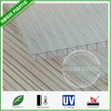 Лист/панель PC поликарбоната Твиновск-Стены пластичные застекляя с UV покрытием