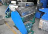 Le fabricant en plastique de machine réutilisant le plastique s'écaille rondelle manuelle