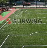 Hierba artificial de la hierba del campo de fútbol de la escuela de la hierba artificial del balompié